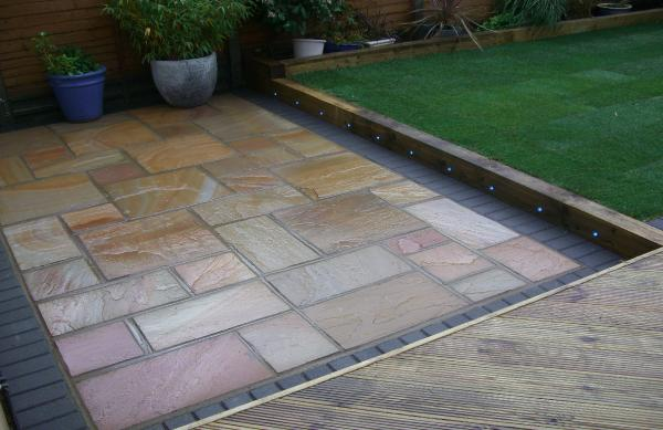 Patios for Garden decking and slabs