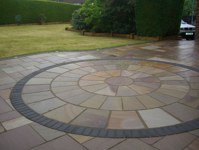 Garden paving ideas designs garden design ideas paving for Paved garden designs ideas