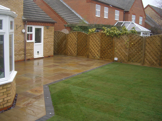 12 absolute patio paving ideas for Garden paving designs
